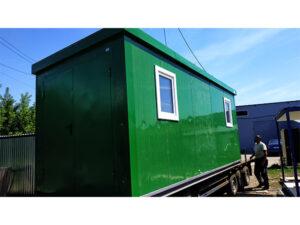 Технический блок-контейнер СП 5,85х2,4м