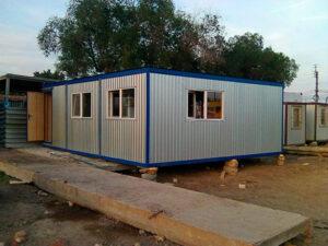 Модульное здание из 3-х блок-контейнеров